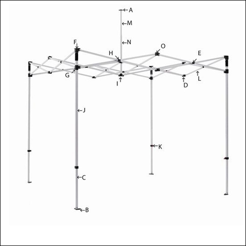 Tent Frame Parts