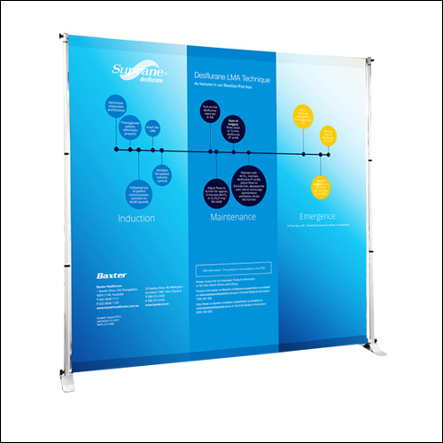 Telescopic Wall Screen BD-01 3X2.4M