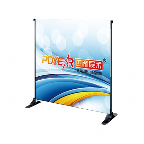 Adjustable Tradeshow banner display stands