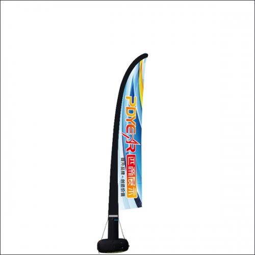 Outdoor trade show advertising Inflatable Flag banners