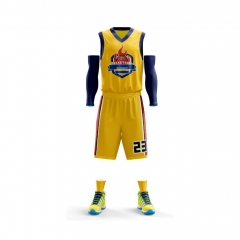 Custom Print Basketball Sportswear